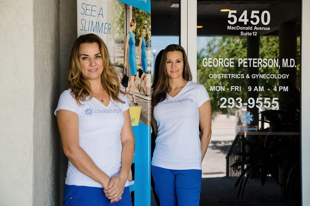 Coolsculpting aestheticians at George Paterson, MD in Key West